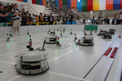 Robots of Team Bavarian Bending Units